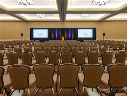 Conference Seating at the Wigwam Ballroom