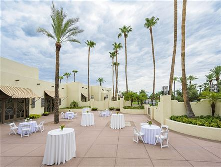 Patio & Outdoor Event Spaces at the Wigwam