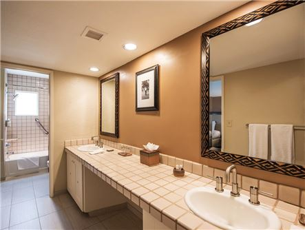 Wigwam Resort Suite Bathroom Amenities