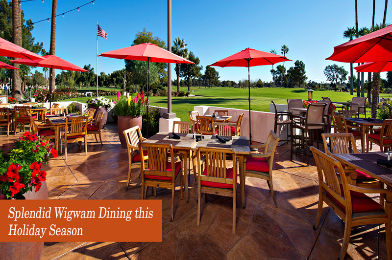 Splendid Wigwam Dining this Holiday Season