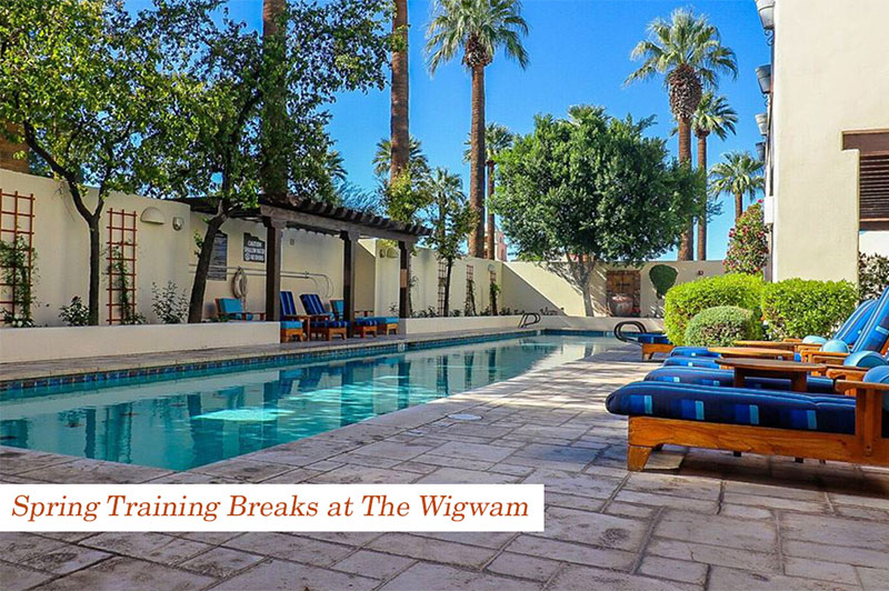 Luxuriate on Your Spring Training Breaks at The Wigwam
