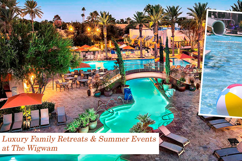 Luxury Family Retreats & Summer Events at The Wigwam
