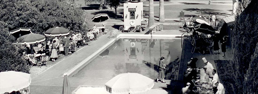 The Wigwam Pool - Then