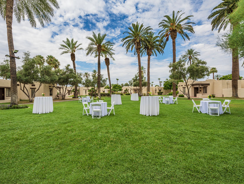 Wigwam Lawn & Patio at The Wigwam Resort, Arizona
